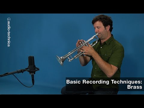 Basic Recording Techniques: Brass