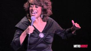Jennifer Holliday performs with the Gay Men