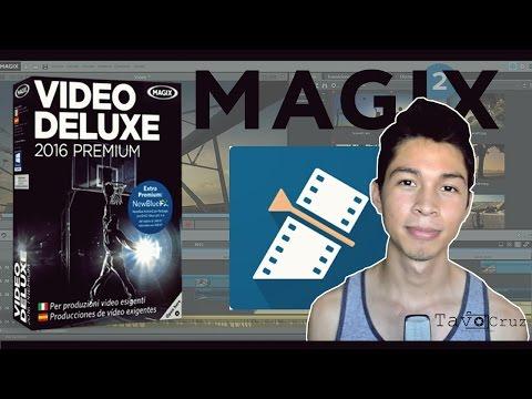 Descargar e instalar Magix Video Deluxe 2016 premium =El mejor editor para principiantes=