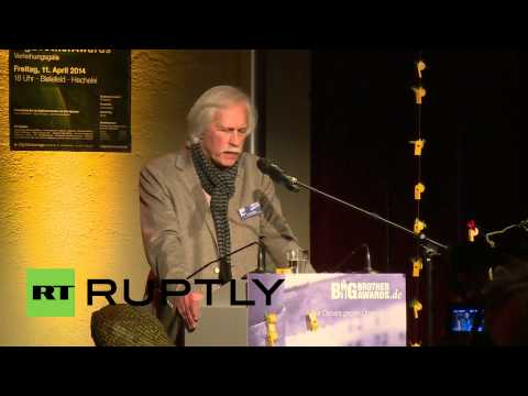 Germany: Federal Chancellery given Big Brother award for spying