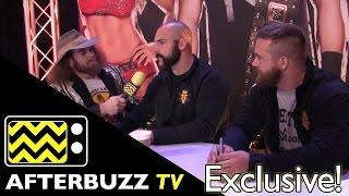 NXT's Scott Dawson & Dash Wilder @ Wrestlemania 31 Axxess | AfterBuzz TV