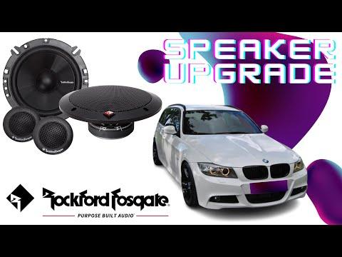 BMW E90/E91 ROCKFORD FOSGATE SPEAKER UPGRADE INSTALLATION