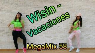Wisin - Vacaciones | MegaMix 58 | Zumba fitness | Dance choreo by Mariya Belchikova