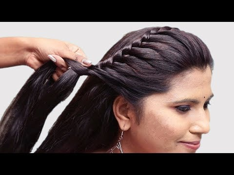 Everyday hairstyle with trick || hair style girl || hairstyes for girls || hairstles 2019 thumbnail