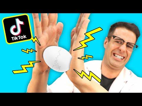 Probando RETOS TikTok DE HUEVOS | Experimento HUEVO INDESTRUCTIBLE | Curiosidades con  Mike - T4 E13