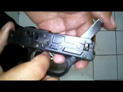 Funcionamiento del mecanismo del gatillo de una Maverick 88