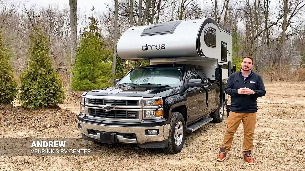 2021 nuCamp Cirrus 620 Truck Camper Half Ton For Sale   In Stock at @Veurink's RV Center in Michigan