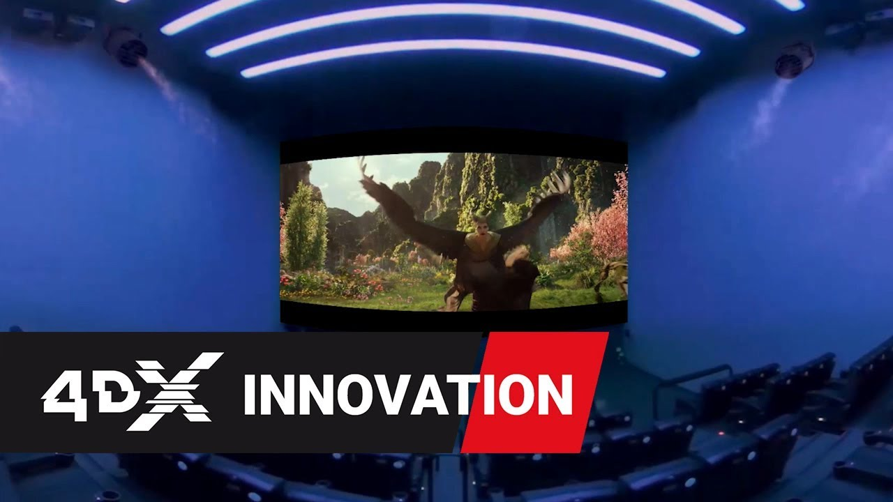 Maleficent Mistress Of Evil In 4dx Inside The Theater 360º