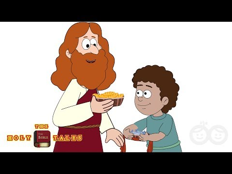The Story Of Two Fish And Five Loaves I Animated Bible Story For Children | HolyTales Bible Stories
