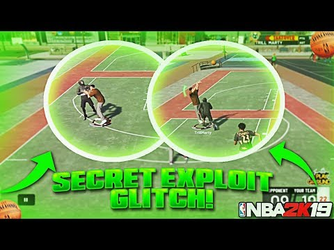 GAME BREAKING EXPLOIT GLITCH OMG!!! • THIS MAY BREAK NBA 2K19!!!