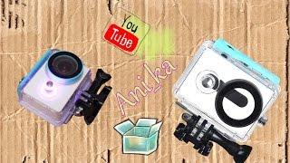 Лучший Аквабокс Xiaomi yi / недорогой подводный бокс xiaomi yi / водонепроницаемый чехол xiaomi yi /