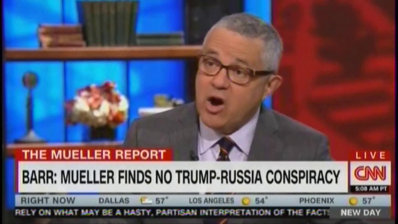 "CNN's Toobin: Mueller Finding No Collusion Is ""Enormously Significant & A Huge Victory"" For Trum"