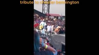 Jared Leto Tribute To Chester Bannington Linkin Park - Alibi|Tribute To Linkin Park