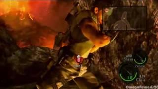Resident Evil 5 - Chris Redfield vs. Boulder