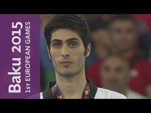 Beigi Harchegani brings home the Gold for Azerbaijan   Taekwondo   Baku 2015 European Games