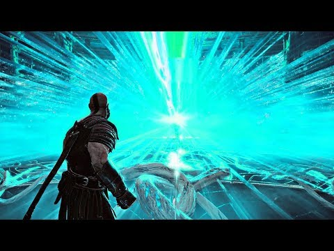 God of War - Using the Bifrost to Travel Between Realms