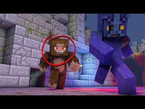Minecraft Animation   Murder Maze Big Foot Animated! (Funny Animation)