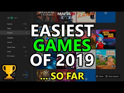 The 10 EASIEST Games Of 2019... So Far - Easiest Gamerscore, Completions & Platinum Trophies