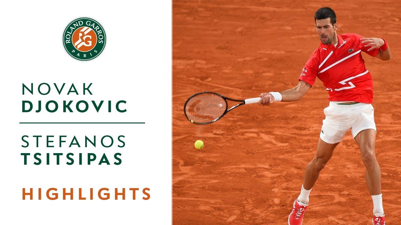 Djokovic tops Tsitsipas at French Open