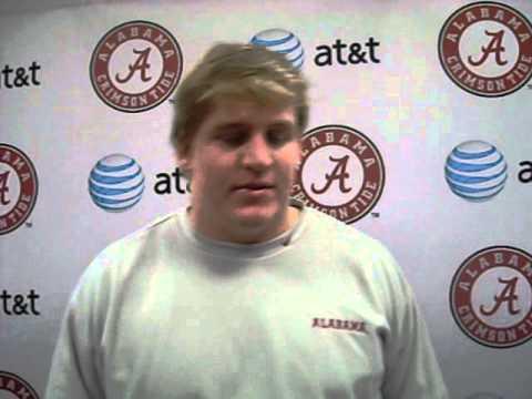 Barrett Jones Interview Video: Nov. 7, 2012