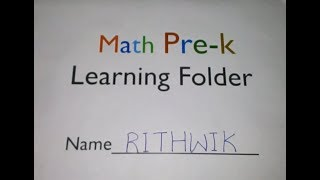 Math Activity File for Preschoolers