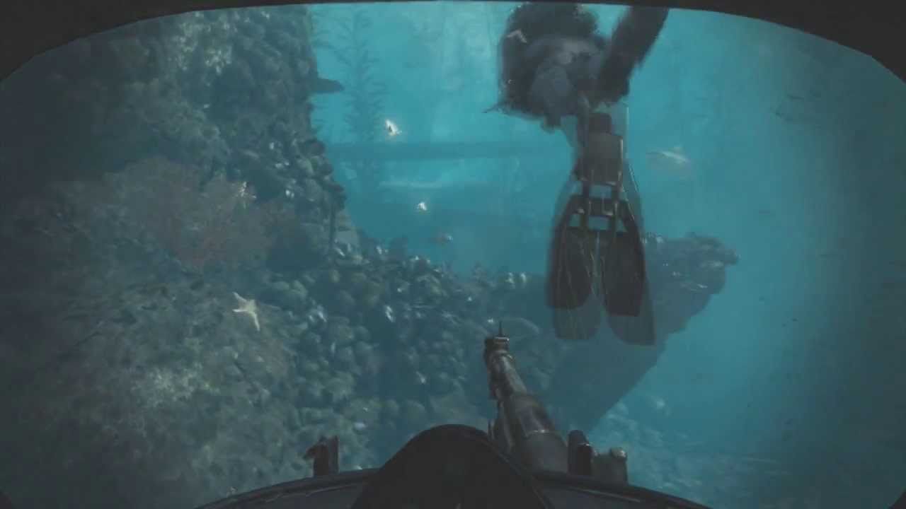 how to pass the sharks on call of duty ghosts