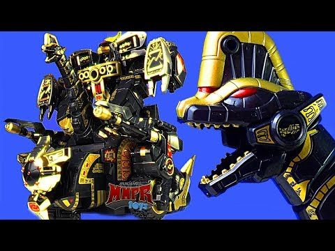 Legacy Black & Gold Titanus! Power Rangers Ultrazord