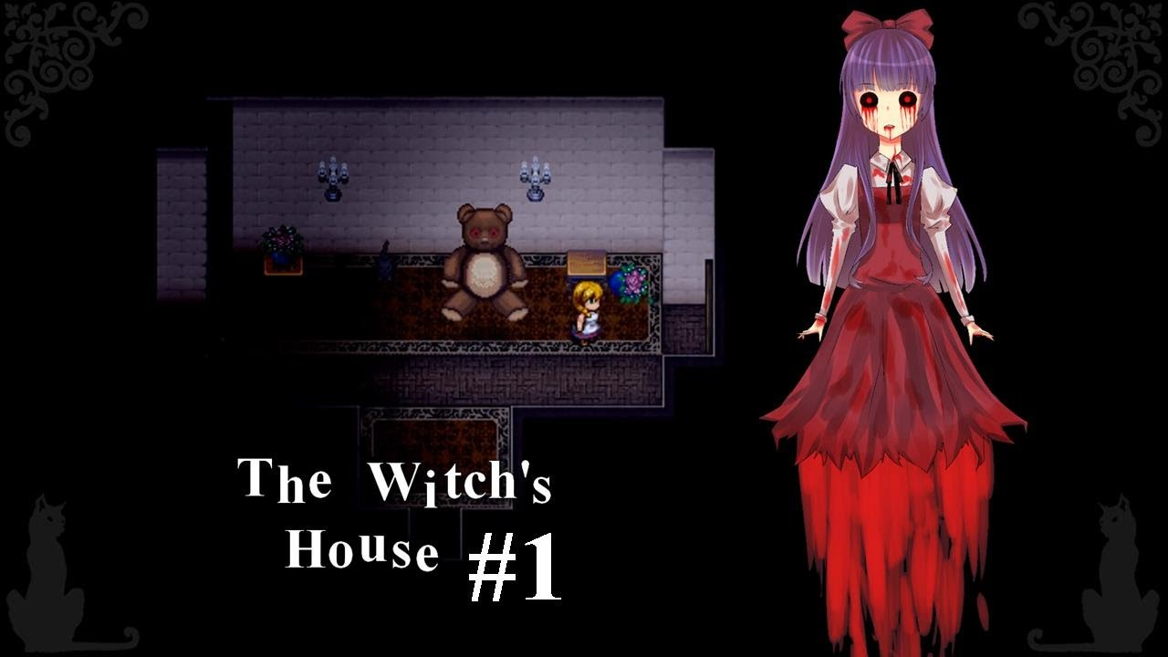 Let 39 S Play The Witch 39 S House Rpg Maker Horror 1 Teddy