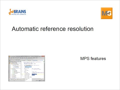 Automatic reference resolution