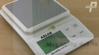 Нетипичные кухонные весы Aslor обзор и калибровка