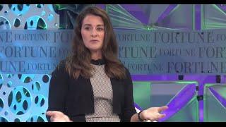 Melinda Gates on tнe Gates Foundation | Full Interview Fortune MPW