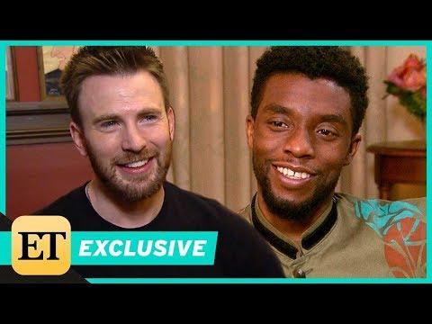 Chris Evans Praises Chadwick Boseman in 'Black Panther' Exclusive