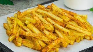 Preparați cartofi pai fără ulei și fără efecte negative asupra sănătății| SavurosTV