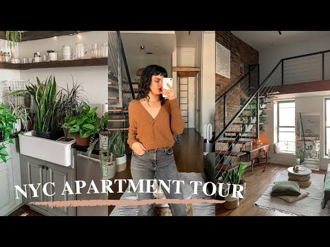 NYC Loft Apartment Tour - Clinton Hill, Brooklyn ($3,000 stu