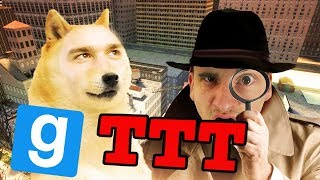 DETEKTYW JANUSZ I PIES! | Garry's mod [#834] - TTT [#173] (W: Mandzio, Alien, Plaga, Dobro, Diabeuu)