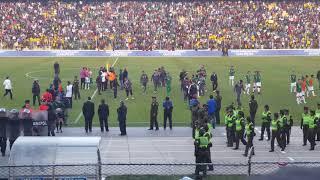 Ultimos minutos y aplausos para Carlos Lampe en el Bolivia vs Brasil