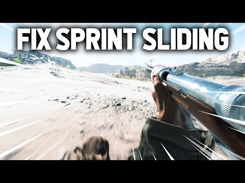 How to Fix the Sprint Sliding in BFV
