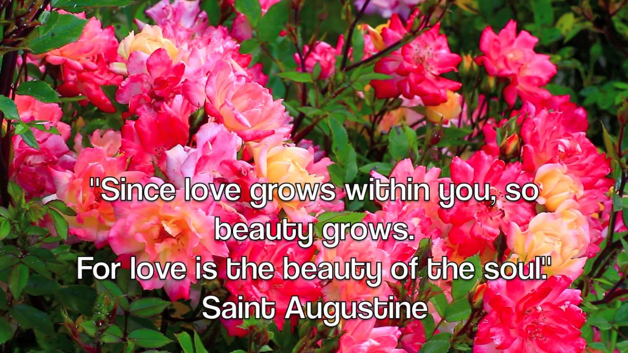 BEAUTIFUL GARDENS ☜❤ ☞ LOVE QUOTES!   YouTube