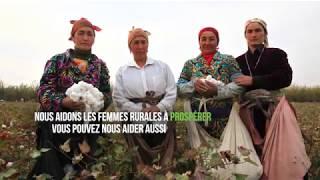 Les femmes rurales: des agents du changement