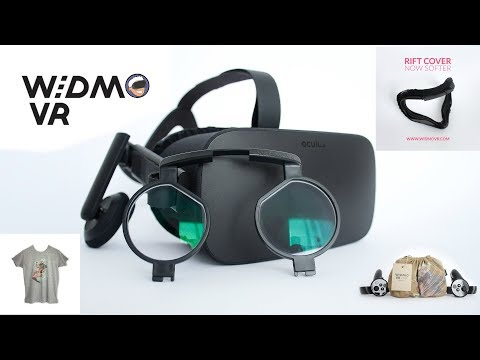 Testing  WIDMO VR's Covers, Bags And Prescription Lens Adapters For The Oculus Rift