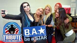 "The cast of ""Total Divas"" host a Be a STAR rally in Jacksonville"
