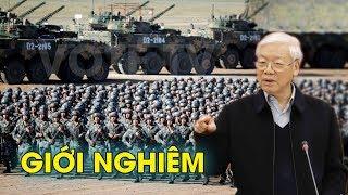 Bộ tư lệnh quân đội điều động xe tăng p...