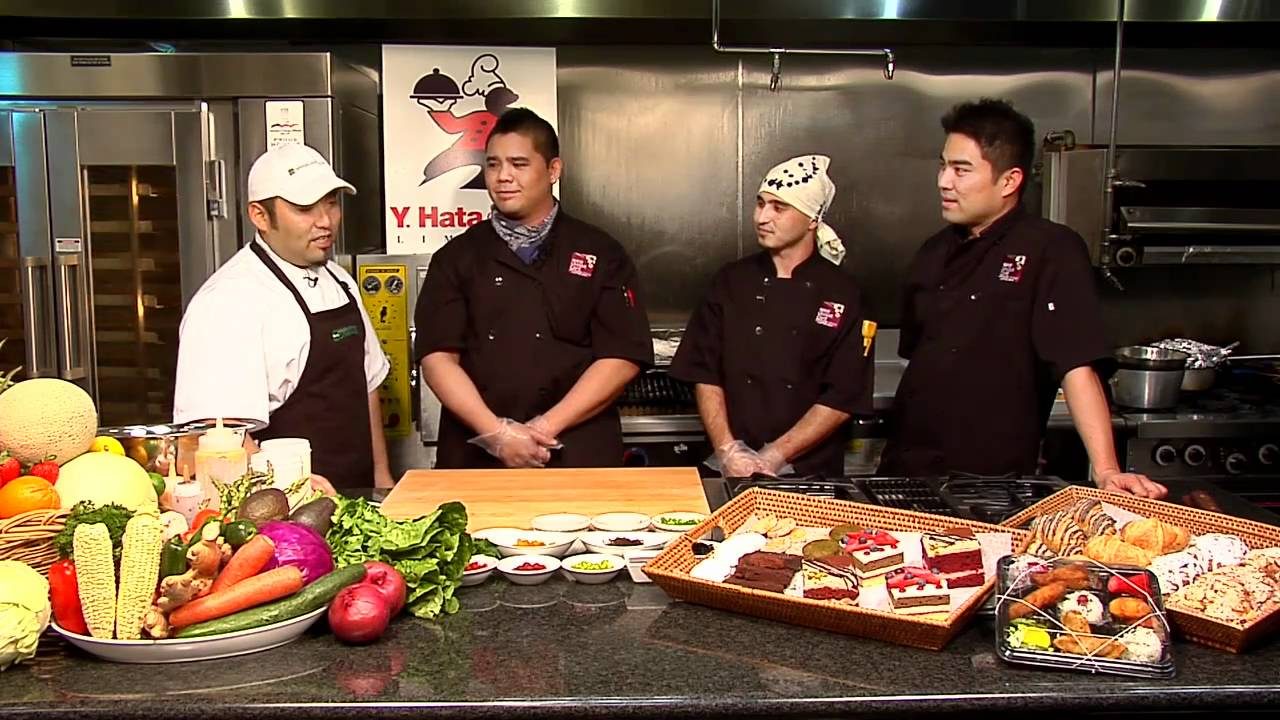 The Kitchen Tv Show Umami Cafe Hawaii  Hawaiian Grown Kitchen Tv Show Segment 1  Youtube