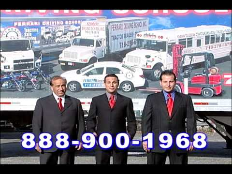 Ferrari Driving School New York Car Bus Motorcycle Truck Tractor Trailer  Bronx Queens Brooklyn   YouTube