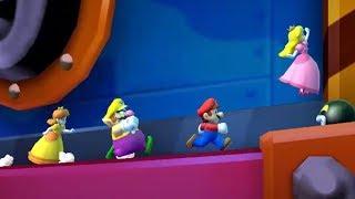 Mario Party Star Rush - Mario Vs Wario Vs Peach Vs Daisy Boss Battles All Minigames (Master Cpu)