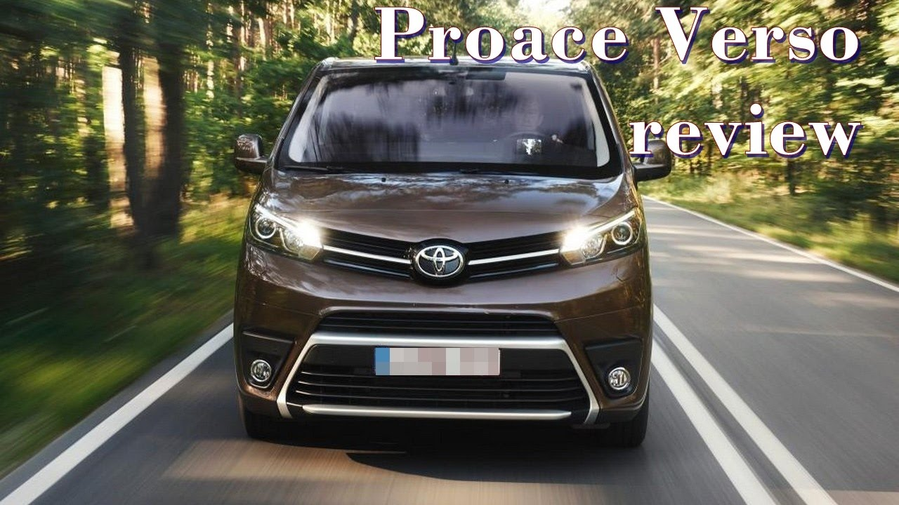 toyota proace verso review youtube. Black Bedroom Furniture Sets. Home Design Ideas