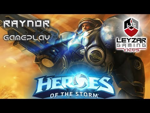 Heroes of the Storm (Gameplay) - Jimmy Jimbo Raynor Meta Build (HotS Raynor Gameplay QUick Match)