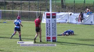Rugby : Versailles déroule contre Clermont