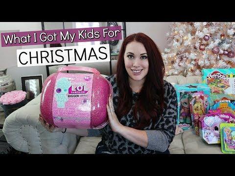 WHAT I GOT MY KIDS FOR CHRISTMAS | Gift Ideas For GIRLS 2019!