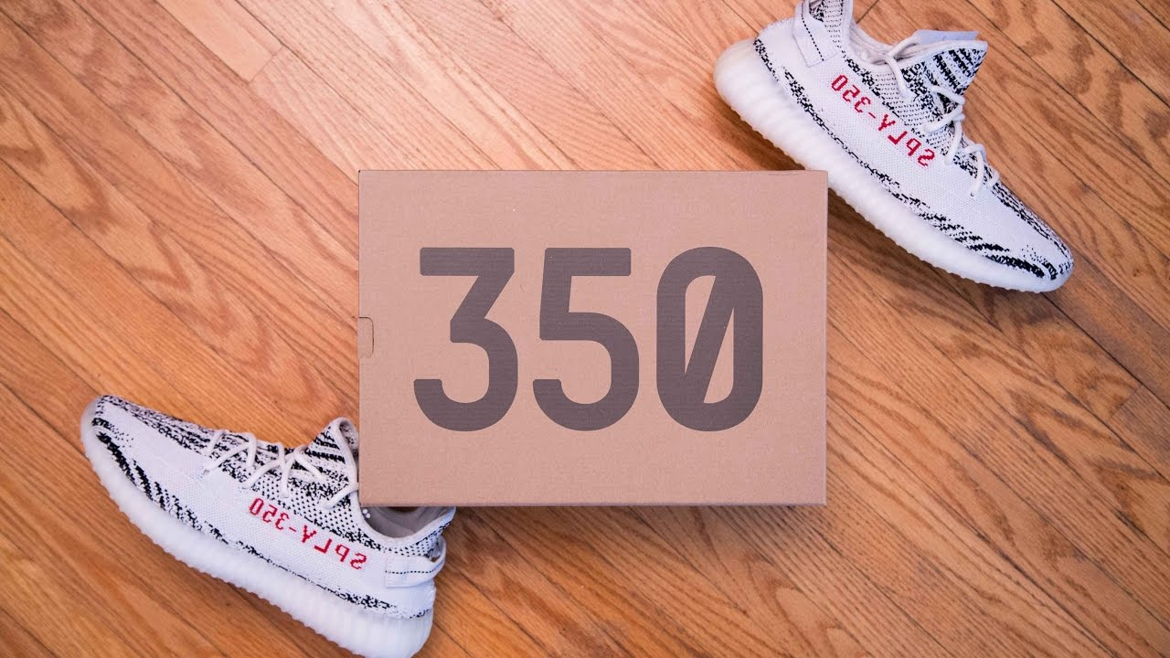 7bfe8a897 Adidas Yeezy Boost 350 V2 Zebra Review and On Feet - YouTube